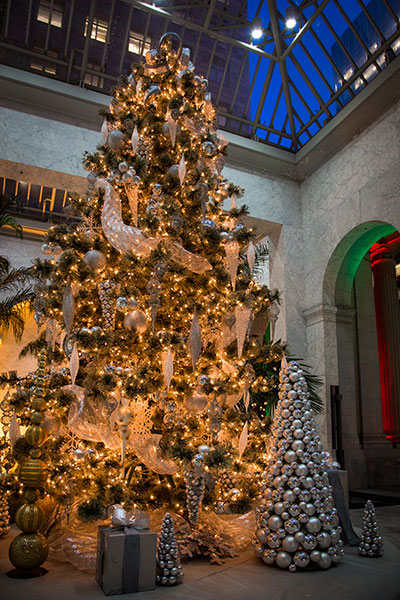 Our Commercial Decorating Division Sells Large Trees And Decorates Banks Corporate Headquarters For The Holidays Delancey Street Residents Not